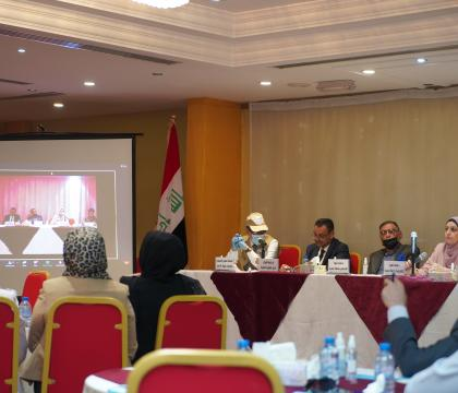Planetary Security Initiative holds the first-ever climate security dialogue in South Iraq