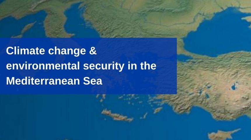 Climate Change & Environmental Security in the Mediterranean Sea webinar by The Konrad-Adenauer-Stiftung